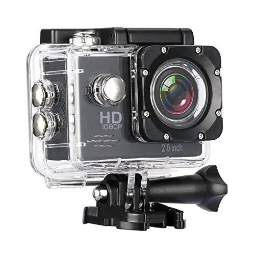 SPRING JUMP 1080P 12Mp Car Bike Helmet Cam Sports Dv Action Waterproof Camera