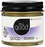 All Good Goop Organic Healing Balm & Ointment | For Dry Skin/Lips, Cuts, Scars, Blisters, Diaper Rash, Insect Bites, Sunburn, More (1 oz)