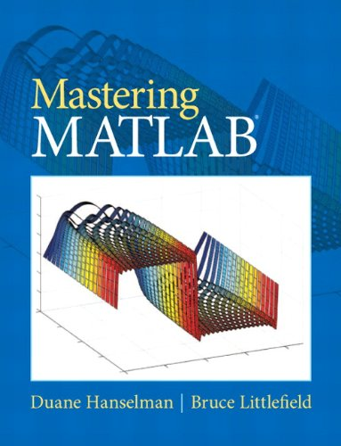 Mastering Matlab (1st International Edition) ISBN-13 9780136013303