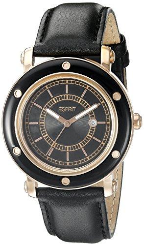 New Esprit Stainless Steel Case - ESPRIT Women's ES104042006 Deco Analogue Watch