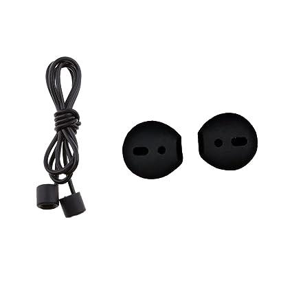 Baoblaze 1 Unidad Cordón Anti Perdida con Protectores de Auriculares Conecta con Apple Airpods Earpods