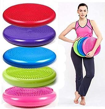 ANLIN 1pièce Yoga Coussin d équilibre Boules DE 33 cm 33 cm en PVC ... c682f8e75c8