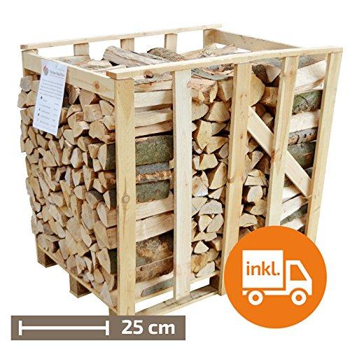 1 Raummeter Premium-Buche, 25cm Scheitlänge 25cm Scheitlänge Timber MacPom