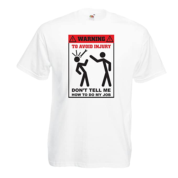 lepni.me Camisetas Hombre No Me digas Cómo Hacer Mi Trabajo - Refranes  Divertidos Ropa de Trabajo  Amazon.es  Ropa y accesorios 727b434d18a52