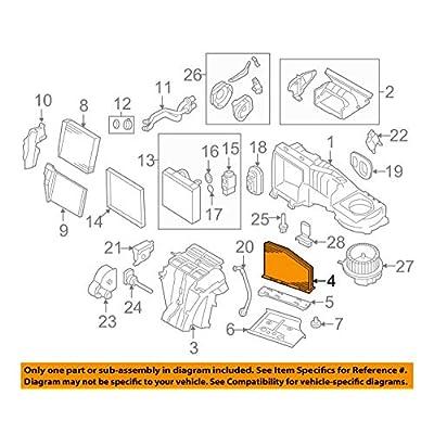 Volkswagen 1K0 819 644 B, Cabin Air Filter: Automotive