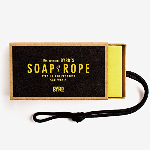 BYRD Soap on a Rope - Daily Cleansing Bar with Coconut Oil, Shea Butter & Aloe Vera | Sulfate Free, Cruelty Free | 9oz