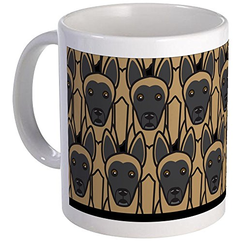CafePress - Belgian Malinois Mug - Unique Coffee Mug, Coffee Cup (Mug Belgian Malinois)