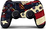 DC Comics Superman PS4 DualShock4 Controller Skin - Superman American Flag Vinyl Decal Skin For Your PS4 DualShock4 Controller