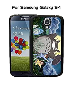 Galaxy S4 Funda Case Japanese Anime My Neighbor Totoro ,Unique design Dust-proof compactable with Samsung Galaxy S4 i9500
