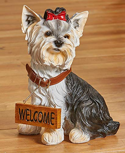 (LTD Welcome Dog Breed Statue,)