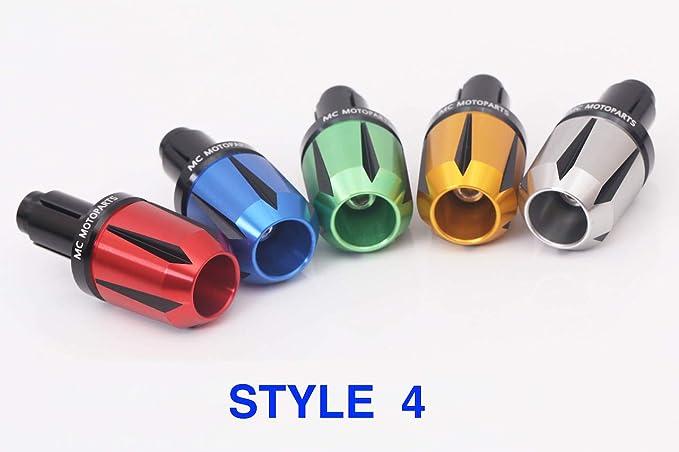 Style 5 - Blue for Honda VTR 1000 SP1 SP2 2001-2007 Autobahn88 Motorcycle Bar End Slider