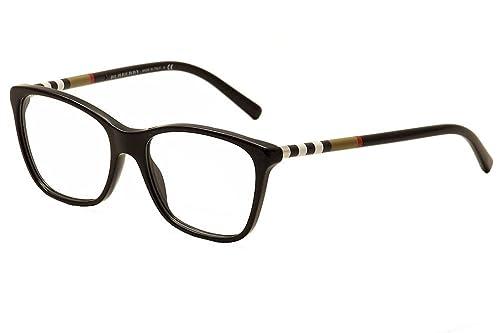 70ade17823e6 Amazon.com: Burberry BE2141 Eyeglasses-3001 Black-53mm: Shoes
