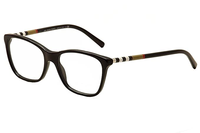 83adc2da7213 Burberry BE2141 Eyeglasses-3001 Black-53mm  Amazon.ca  Clothing ...