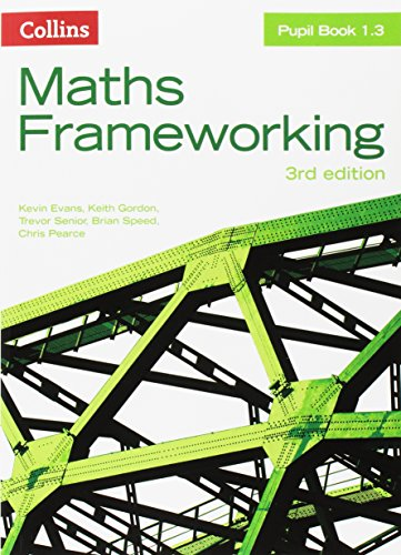 Pupil Book 1.3 (Maths Frameworking) -  Kevin Evans, Paperback