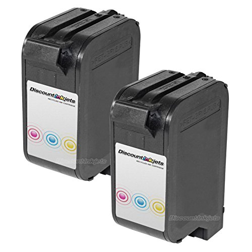 (JS 2p C6625AN COLOR Ink Cartridge for HP 17 Deskjet 842C)