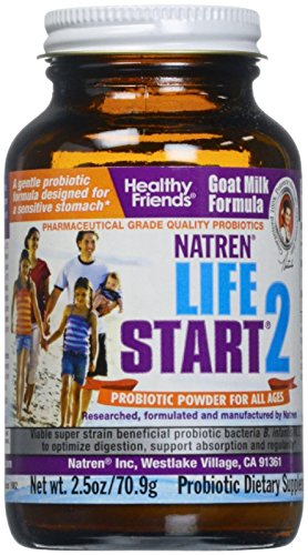 [Natren Life Start 2 (Goat Milk Formula), 2.5-Ounce] (Goat Milk Digestion)