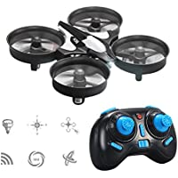 RC Drone, GEEDIAR JJRC H36 Mini Drones 2.4G 4CH 6 Axis Headless Mode Remote Control Rc RTF Quadcopter Drone for Kids Gift Black