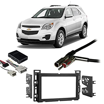 51zFTBbQavL._SX425_ amazon com fits chevy equinox 2005 2006 double din stereo harness