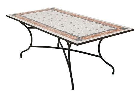 Hevea Table mosaïque ROLAND200 rectangulaire 200x100 cm ...