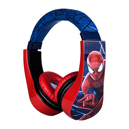 Spiderman Kid Safe Over The Ear Headphone W Amazon In Electronics