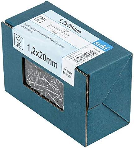 Stauchkopf blank 8 x 35 mm 1 400 g Drahtstift suki