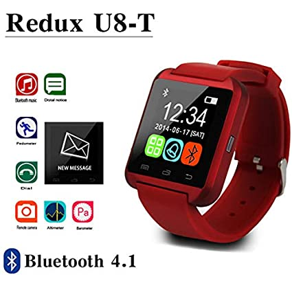 DDGOU Smartwatch Bluetooth Smart Watch U8 para iPhone iOS Android ...