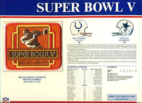 Super Bowl V Baltimore Colts vs Dallas Cowboys at Orange Bowl - The At Orange Shops