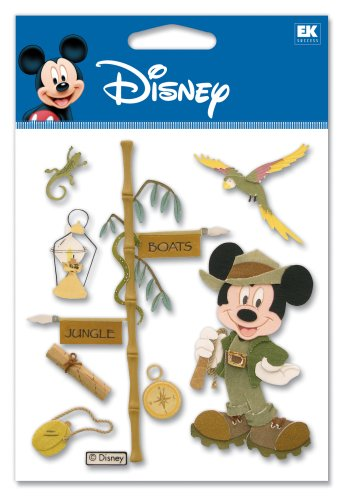 Disney Jungle Mickey Dimensional Sticker