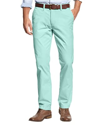 Medium Rise Slim Chinos - Sales Up to -50% Tommy Hilfiger cEfYLWRGH
