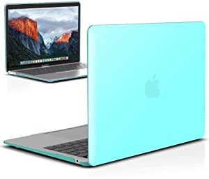IBENZER MacBook Air 13 Inch Case 2020 2019 2018 New Version A1932, A2179, Hard Shell Case Cover for Apple Mac Air 13 Retina with Touch ID, Turquoise, MMA-T13TBL