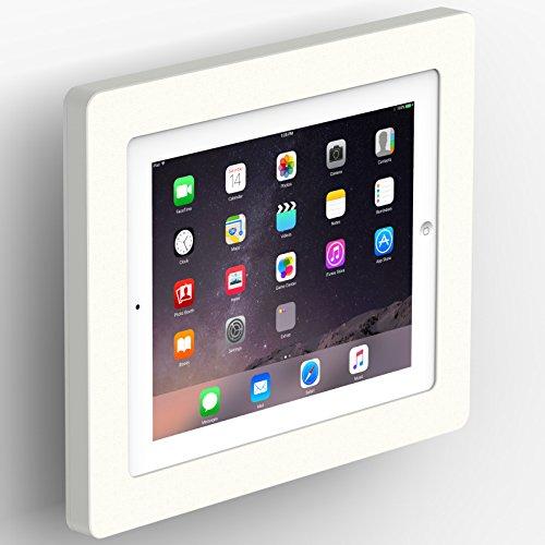 VidaMount White Enclosure and Tilting VESA Slim Wall Mount [Bundle] Compatible with iPad 2/3/4 ()