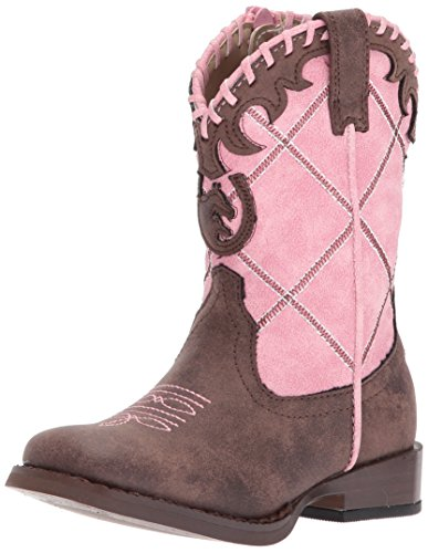 Pictures of Roper Girls' Lacy Pink 4 M US Infant Pink 4 M US Infant 1