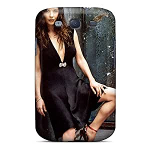 First-class Case Cover For Galaxy S3 Dual Protection Cover Catherine Zeta Jones