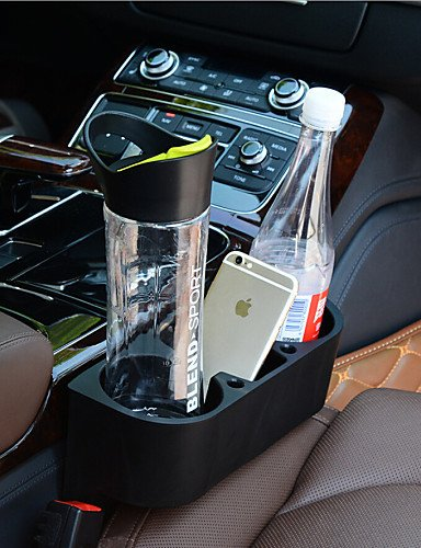 New Portable Multifunction Vehicle Cup Cell Phone Holder Drinks Holder Glove Box Car Accessories , black
