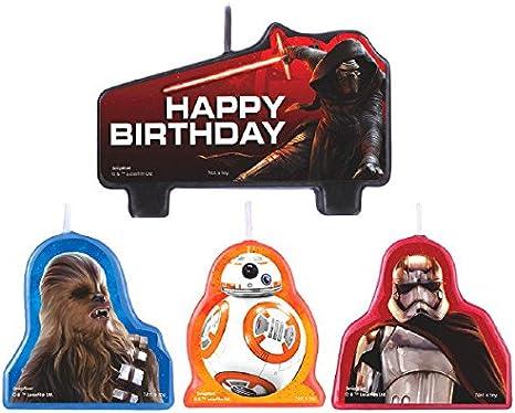 Star Wars Episode VII Birthday Candle Set