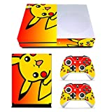 EBTY-Dreams Inc. - Microsoft Xbox One Slim - Pikachu Pika Vinyl Skin Sticker Decal Protector