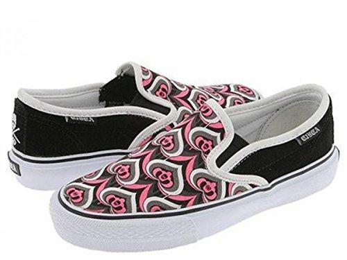 C1RCA Skateboard Schuhe Lopez 50 Slips W Schwarz/Pucci
