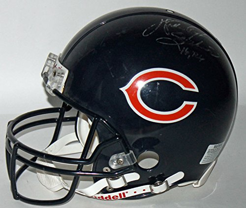 Walter Payton Autographed Signed Game Fs Proline Helmet Distressed Use Memorabilia - JSA Authentic