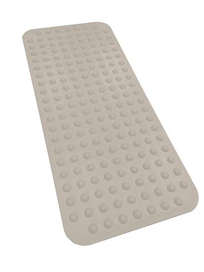 ae752d0004f7 Amazon.com: Sultan's Linens Extra Long Rubber Bath Mat Non Slip 40