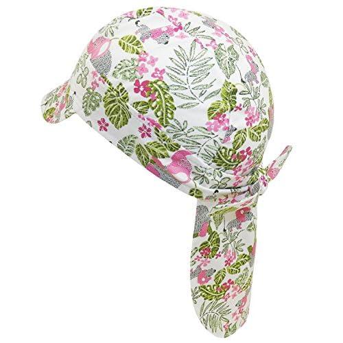 e86de5792 Nuevo EveryHead Fiebig Niñas Sombrero De Protección Del Cuello La Gorro  Pañuelo Bandido Casquillo Verano Con