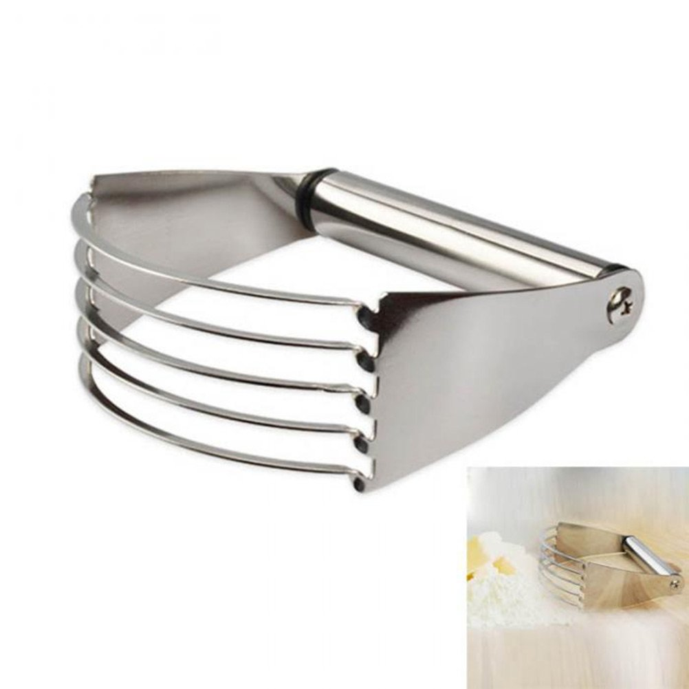 Daycount Manual Dough Blender Stainless Steel Baking Pastry Blades Butter Lard Cutter Flour Mixer Kitchen Baking Tools Daycount® DC1602