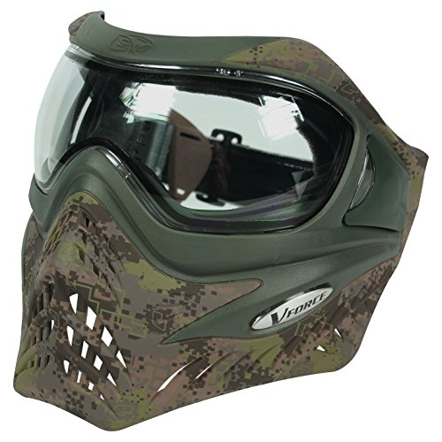 Eclipse Distortion Paintball - Planet Eclipse VForce Grill Goggles - Thermal - HDE Cam