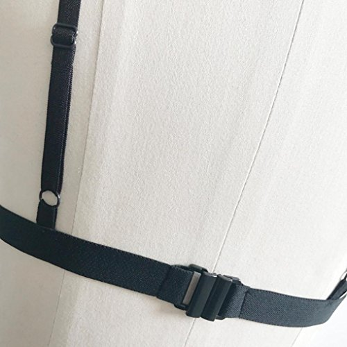 Longra Mujeres Ataduras Bandage Lace Bralette Underwear Azul