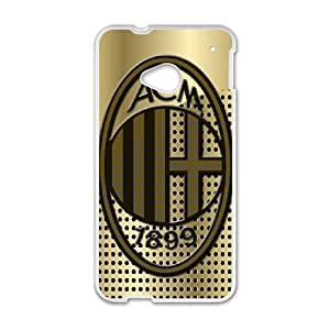 AC Milan for HTC One M7 Cell Phone Case & Custom Phone Case Cover R18A652076