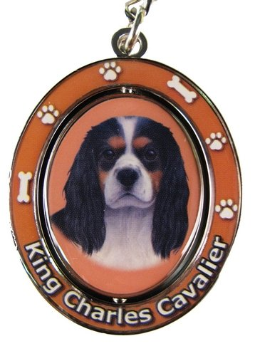King Charles Tri Color Key Chain