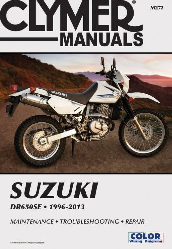 Suzuki DR650SE 1996-2013 Technical Repair Manual (Clymer Motorcycle ()