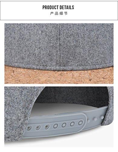 Simple Invierno de Cork Caps Fashion Color Men Black Hip Gorra béisbol Simple Hat Hop Snapback MXNET Classic Sombreros Women Autumn xBzw66