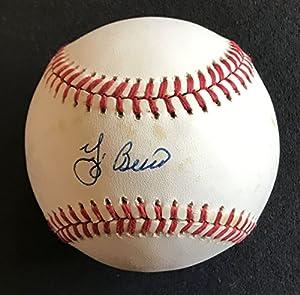 Yogi Berra Signed Autographed Official National League (ONL) Baseball - COA Matching Holograms