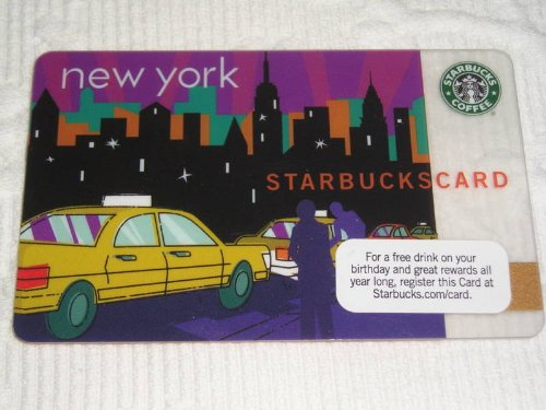 - 2010 Starbucks Coffee Gift Card