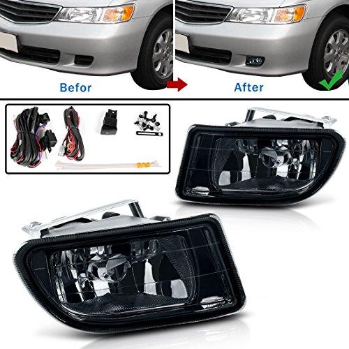 AUTOSAVER88 99 00 01 02 03 04 For Honda Odyssey Fog Lights (00 01 02 Fog Light)